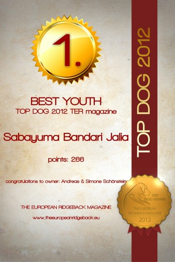 Jalia best Youth 2012