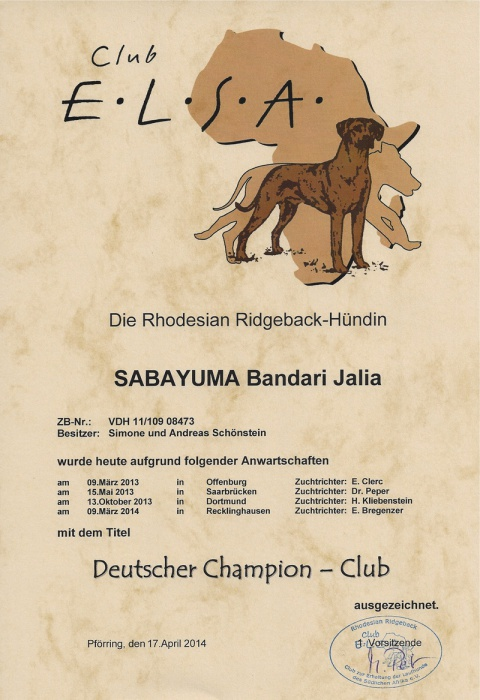 Champion Club Jalia
