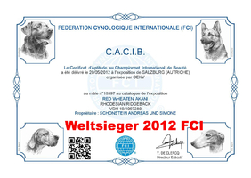 CACIB Salzburg (AT) Weltsieger